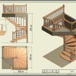 Как самому рассчитать размеры лестницы из дерева