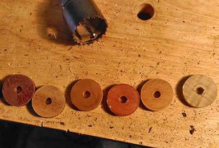 Заготовка для деревянных колец