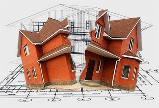 ошибки в проектировании дома
