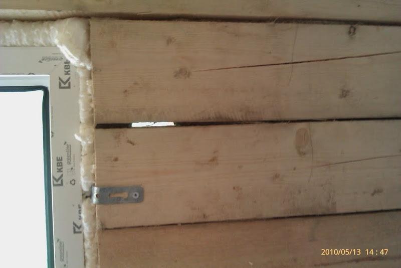 щели в стенах дома из бруса