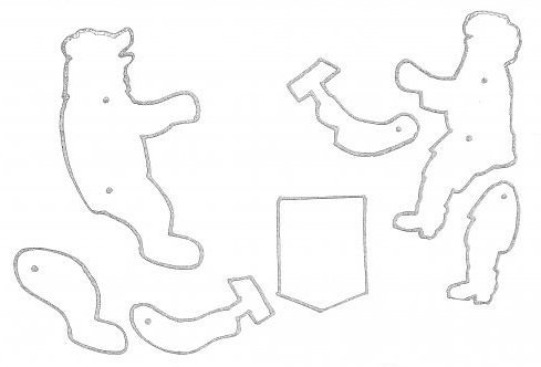 эскиз деревянных игрушек