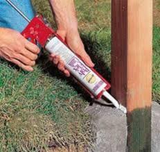Способ установки столбов