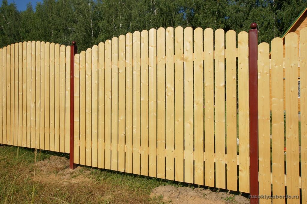 Забор подготовлен к покраске своими руками