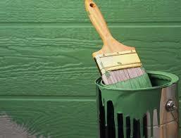 Технология покраски деревянного забора