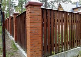 Забор без фундамента и с фундаментом