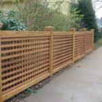 Забор решетка на даче