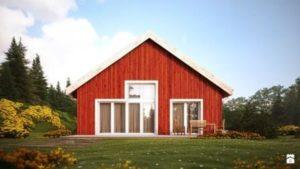 Варианты отделки деревянного дома