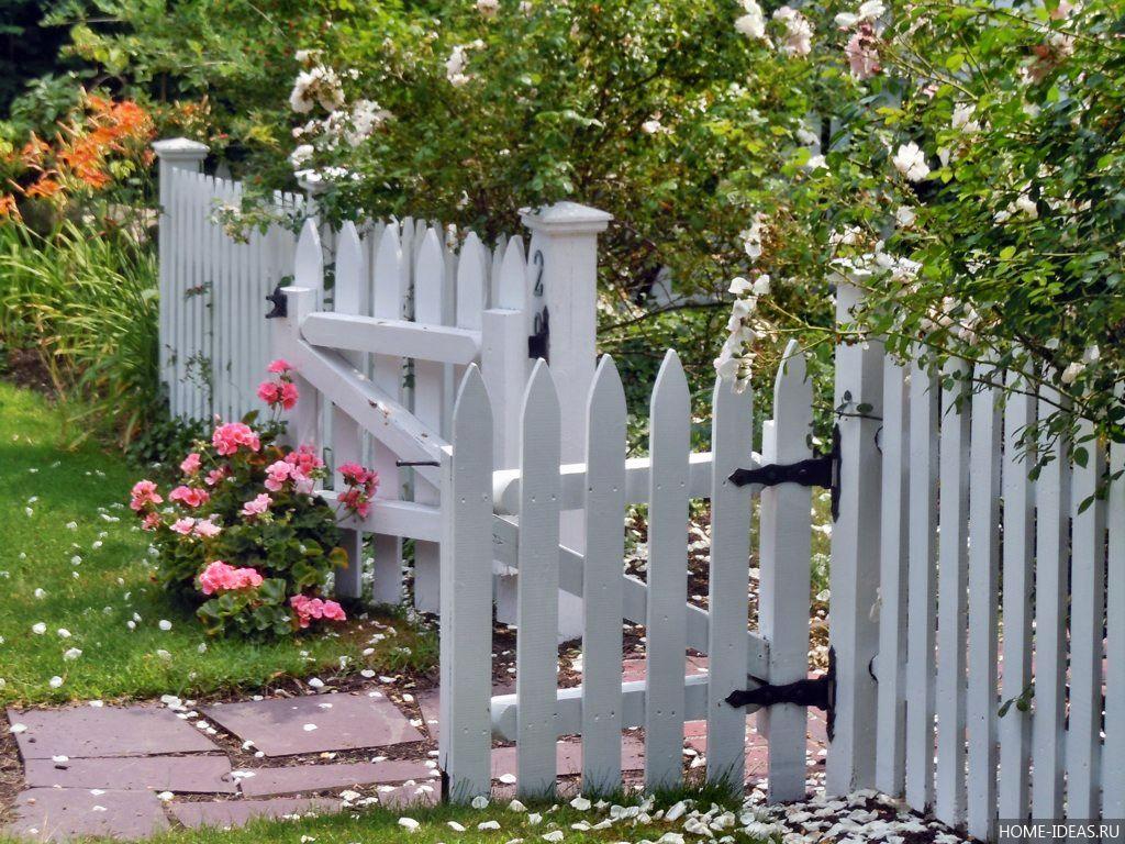 Забор для палисадников своими руками фото 723