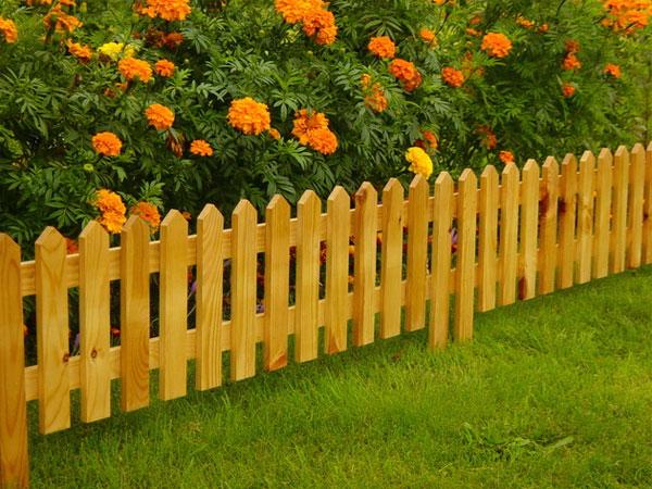 Декоративный забор штакетник