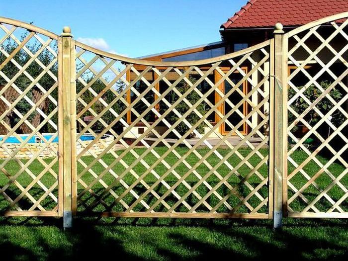 Декоративный забор решетка