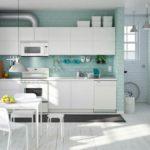 Кухни Икеа:  особенности, планировка