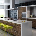 Идеи для кухни с барной стойкой