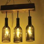 Как выполнить оригинальную лампу из бутылки
