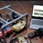 Как сделать генератор на 220 В с использованием 2-х тактного двигателя