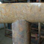 Как сделать качественное седло трубы для врезки под углом