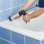Креативные идеи как заделать щель между ванной и стеной