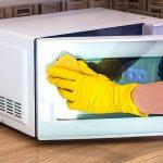 Легкий способ очистки микроволновки