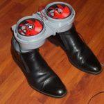 Самодельная сушилка для обуви