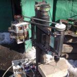 Как сделать сверлильный станок из стиральной машинки