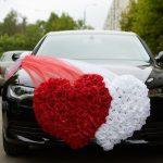 Самодельные украшения на свадебное авто