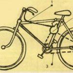 Идея по созданию ручной лебедки из старого велосипеда
