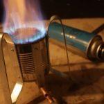 Как сделать газовую плиту из консервной банки