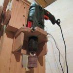 Как сделать сверлильный станок из шуруповерта