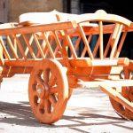 Самодельное колесо для телеги