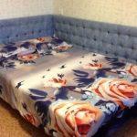 Как сделать мягкое изголовье кровати с каретной перетяжкой