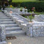 Как сделать габион — популярное украшение садового участка