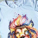 Как сделать футболку с рисунком