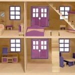 Как смастерить ребенку кукольный домик