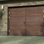 Как сделать гаражные ворота из обычного профнастила