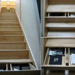 Как сделать систему хранения в ступенях обыкновенной лестницы