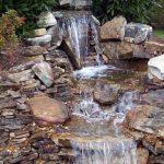 Каскадный водопад для дачи точь-в-точь как природный