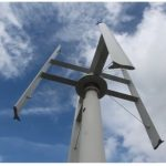 Самодельный генератор из ветра