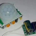 Самодельный датчик движения на выключатель