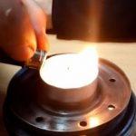 Как сделать обогреватель для палатки из масляного фильтра за четыре шага