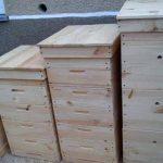 Самодельные ульи для пчел для маленькой пасеки