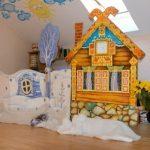 Кукольный театр с декорациями своими руками