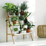 Оригинальные этажерки для цветов своими руками