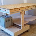 Как сделать складной верстак для домашней мастерской