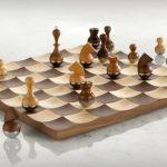 Как вырезать самодельные шахматы из дерева