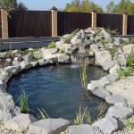 Как сделать декоративный пруд в саду своими руками