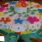 Бумажный торт-сюрприз для детей своими руками