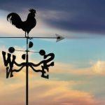 Как создать самому необычный флюгер на крышу дома