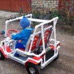 Детский электроавтомобиль своими руками