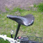 Как сделать кожаное седло на велосипед