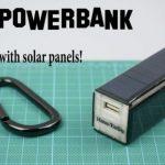 Как собрать PowerBank на солнечных панелях из доступных материалов