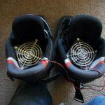 Как из трех компонентов сделать электросушилку для обуви